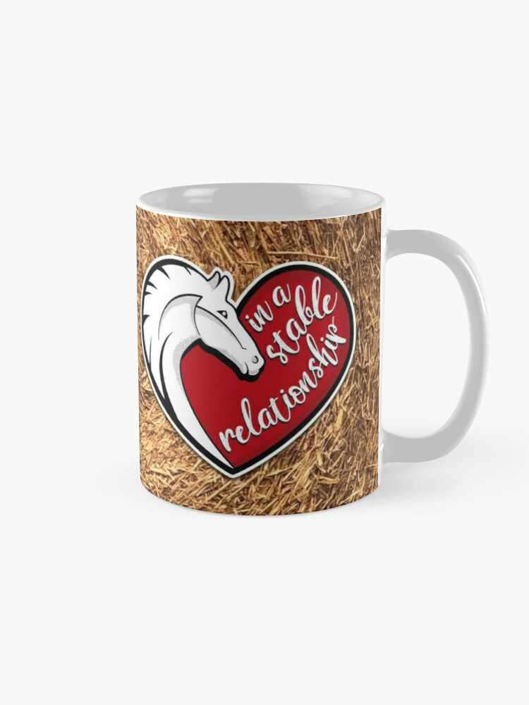 In a stable relationship mug
