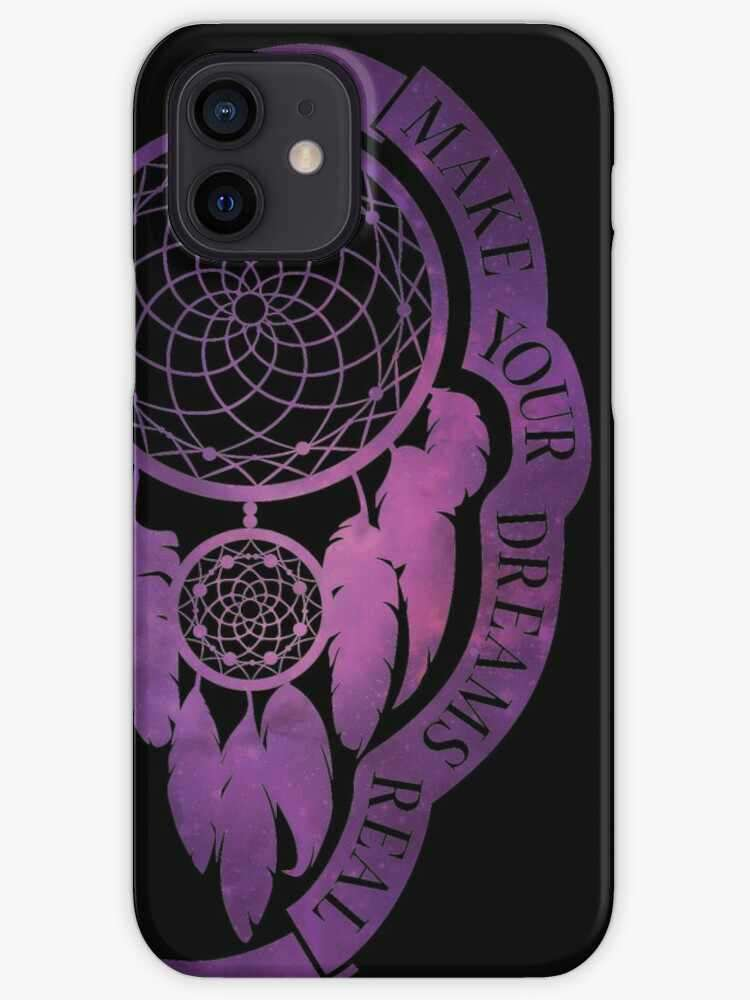 Make Your Dreams Real - Dream Catcher iPhone case